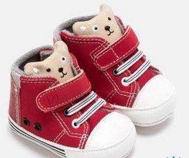 κοκκινα παπουτσια αγορι με αρκουδακια