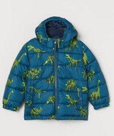 παιδικ μπουφαν μπλε πρασινο