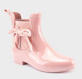μποτακια με φιογκακι ροζ