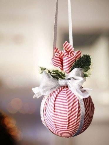 diy μπάλα χριστουγεννιάτικο δέντρο χριστουγεννιάτικη διακόσμηση αποφύγεις
