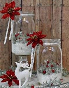 χριστουγεννιάτικα διακοσμητικά βάζα