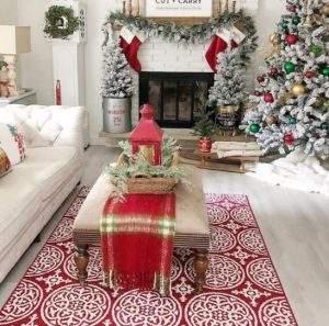 χριστουγεννιάτικη διακόσμηση στο σπίτι