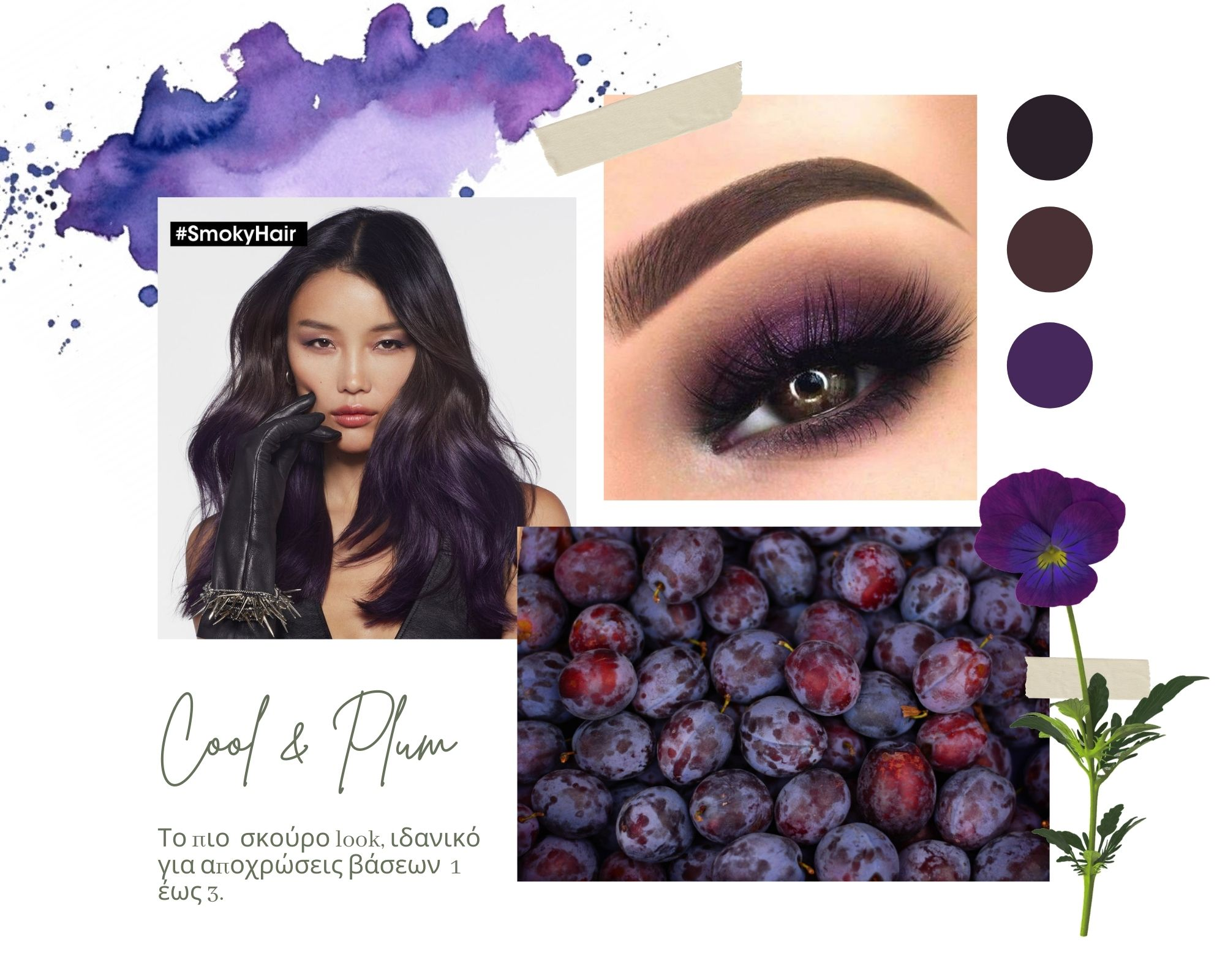cool and plum