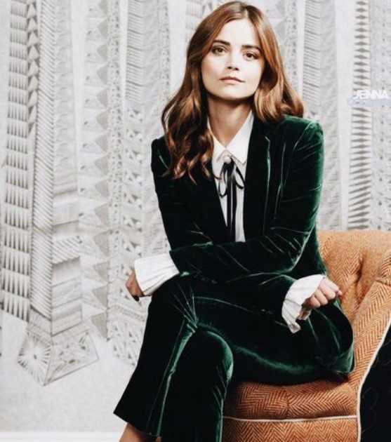 πράσινο βελουτέ κοστούμι