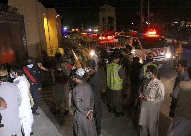 Bομβιστική επίθεση στο Πακιστάν