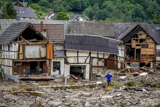 Πλημμύρες στη Γερμανία
