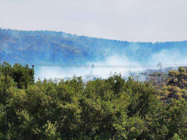 Φωτιά στα Βίλια φωτογραφίες Ευδοκία Μύτιλη
